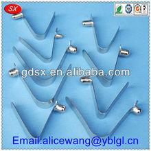 Dongguan custom spring steel leaf spring suspension,volvo truck spring leaf,leaf spring pin
