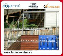Design of Veranda/balcnoy/deck stainless steel cable railing
