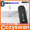 Cozyswan mini pc android 4.2 dual core MK809II HDMI Dongle android tv smart stick android 4.1 quad core rk3066 mini pc