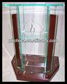 Rd-538 hot vender madeira púlpitos para igreja; plexiglass púlpito da igreja