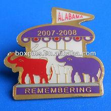 wholesale remembering animal elephant lapel pin