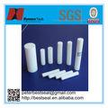Ptfe moldeado de rod, 2mm varilla de ptfe, de plástico blanco varilla de peek