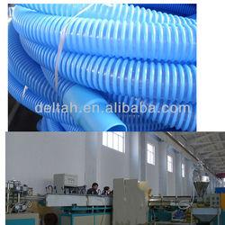 Spiral pipe machine swimming pool waving pipe/hose making machine