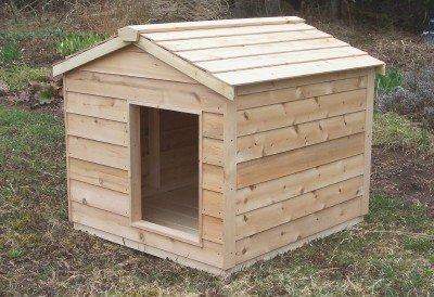 Insulated Cedar Dog Or Cat House