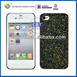 Glitter shone new pc hard case for Iphone4 4g