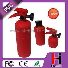 Fire extinguisher shape silcone memorias usb