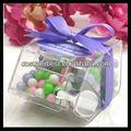 pequenas acrílico alimentos a granel distribuidor de doces caixa