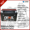 suzuki/ battery for motorcycle 12V 9AH (YTX9-BS)
