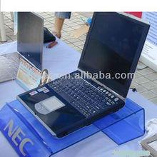 Countertop acrylic laptop display stand