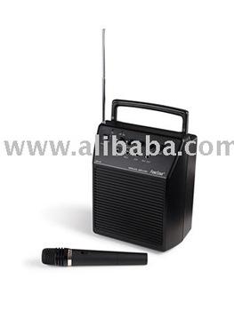 amplificador portatil con microfono