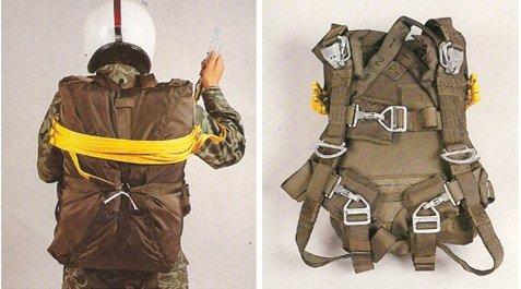 Paracaídas, Personal, De tropas de nuevo, Tipo t-10, Principal