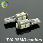 Good factory w5w led canbus car bulb