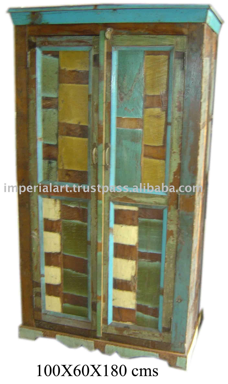 Wooden almirah buy almirah old furniture reclaimed Pictures of wooden almirahs