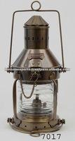 Nautical Anchor Ship Lamp Antique, Anchor lamp, nautical lamp