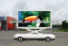 digital mobile billboard truck for sale, High definition outdoor mobile truck LED Display