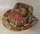 Straw Trilby Hats