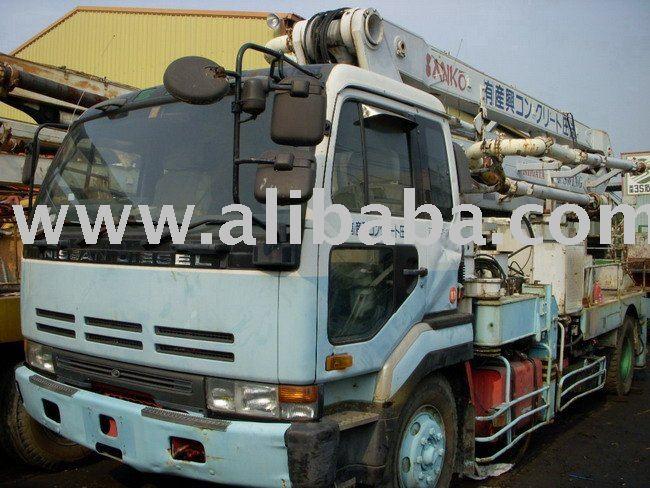 NIGATA CONCRETE PUMP NCP11FB-253 , 25 METER