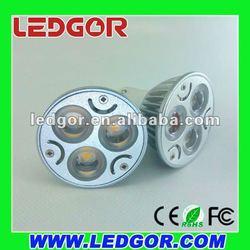 High power Bi-Pin LED GU10 3w 4w 6w factory supply