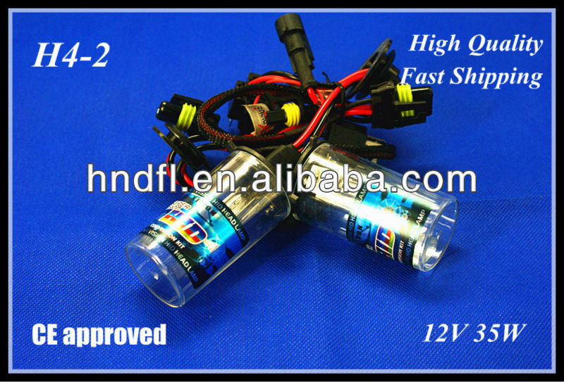 Best Reputation! Defeilang Factory Price & High Quality HID xenon lamps super slim ballast H4 CE approved AC/DC 12v 24V 35w 55W