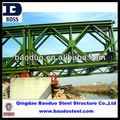 Estructuras de acero galvanizado, puente Bailey en venta