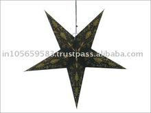 handmade paper star/ craft paper star / Paper lanterns star shape / papisterne