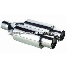 Universal titanium muffler for auto