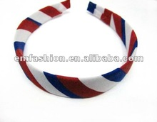 UK,USA flag hair band,flag fashion hair accessory,