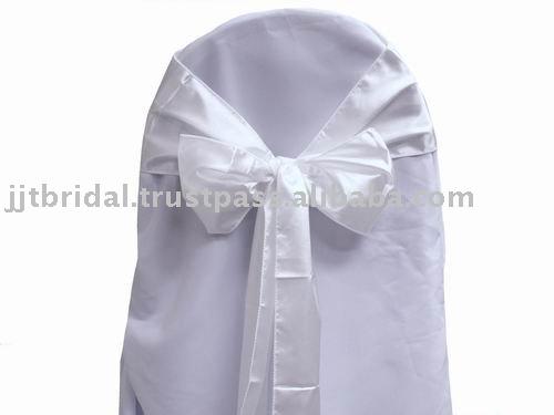 SH030 Wedding chair sashes BowsBanquet chair sashes Satin chair Ribbon