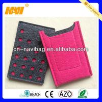 Factory wholesale felt bag cell phone(NV-FT032)