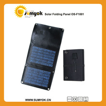 OS-F1001 Camping power charger Poly 10w 12v folding solar panel