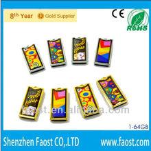 2013 Christmas gift global sources china enamel usb stick Christmas gadget usb falsh drive corporate gift