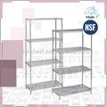 nsf de acero inoxidable alambre de metal estantes