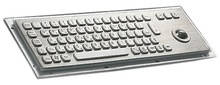 Industrial Keyboard with Trackball (SUZK868-TB8)