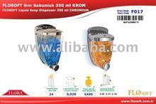 Flosoft Liquid Soap Dispenser Chromium Plated