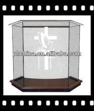 Rd-575 venda quente desktop acrílico púlpito; púlpito da igreja pedestal; digital púlpito