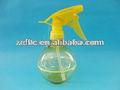 300ml, 350ml forma redonda garrafa de plástico, com bomba de dispensador, para o uso cosmético