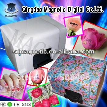 small inkjet photo nail art printer/flower printer
