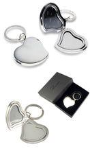 2013 apple shape custom blank metal keychain
