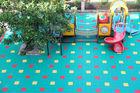 Good quality Hot Sale Popular Factory price Colorful modular tile Plastic mat Outdoor Interlock Kindergarten Playground Flooring
