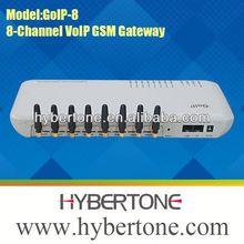GOIP8 8 sim cards gsm gateway pbx