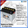 Dry Cell Motorcycle Battery 12N4-3B(12V 4AH)