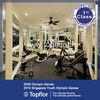 Gym Flooring Contemporary Home Gym Design with Rubber Flooring
