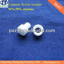 High purity Alumina Ceramic Screw, Ceramic Nuts