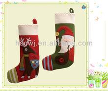 pretty christmas sock christmas gift stuffed christmas toys