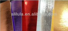 Air free bubble wrap red mirror chrome vinyl film protective car chrome mirror vinyl film 1.52*30m ISO/SGS/CE