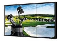 46 inch seamless lcd video wall with video wall splitter including VGA Splitter,DVI Splitter, HDMI Splitter