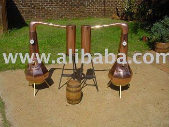 Miniature Copper potstills, Alcohol Distillers, Home Distillation