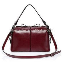 Leather Bag Manufacture/Woman Leather Tote Bag/Fashion Handbag FB-HBL013