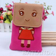 Big Eye MM Shoulder Lady Handbag for Mobile Phone