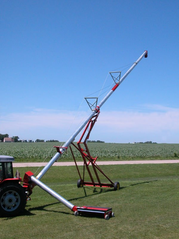 Small Portable Grain Augers